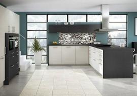 Keuken Schiereiland Met : Keuken eiken modern met schiereiland wood creations