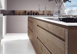 Massief Houten Keuken : Keukenxpert grafiet gelakte houten keuken keukenxpert