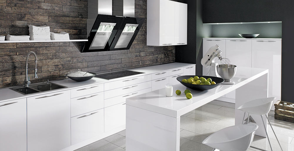 Keukenxpert soft witte gelakte design keuken keukenxpert - Witte keukens ...